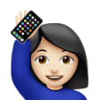 ivette emoji with iPhone