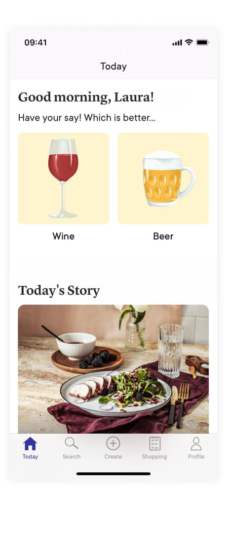 Binomial poll from Kitchen Stories