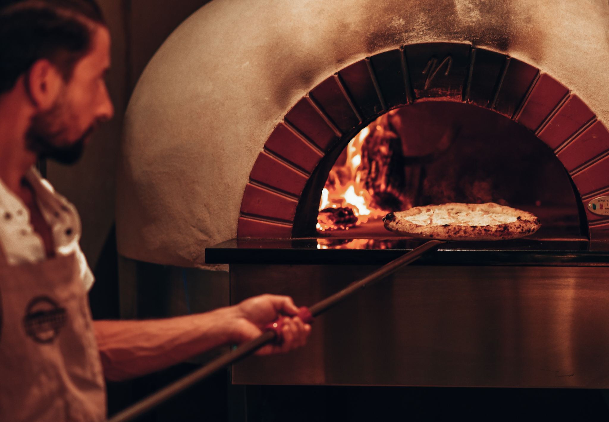Somedays Chef Donzelli and our wood-fire oven