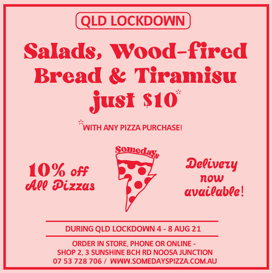 Somedays Wood-Fired Pizza Noosa