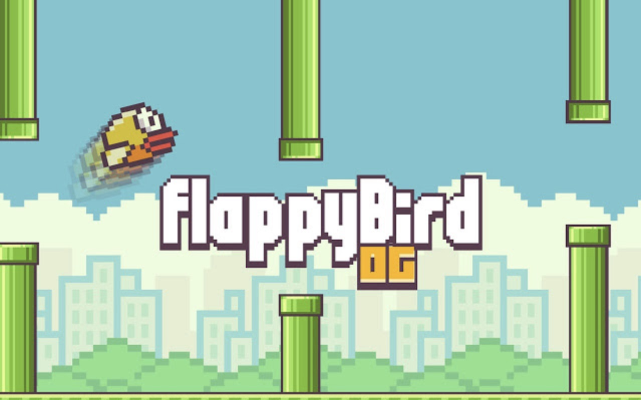 Flappy bird intro