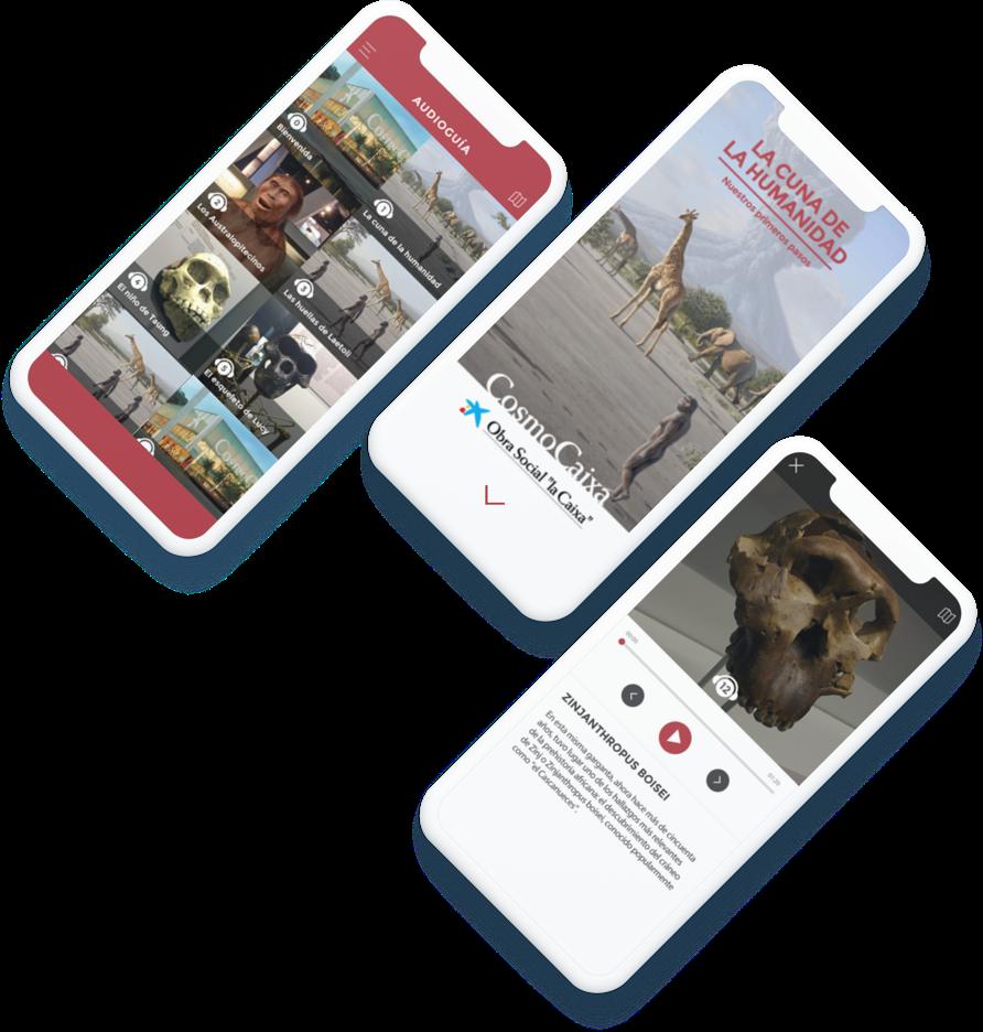 Cosmo Caixa app
