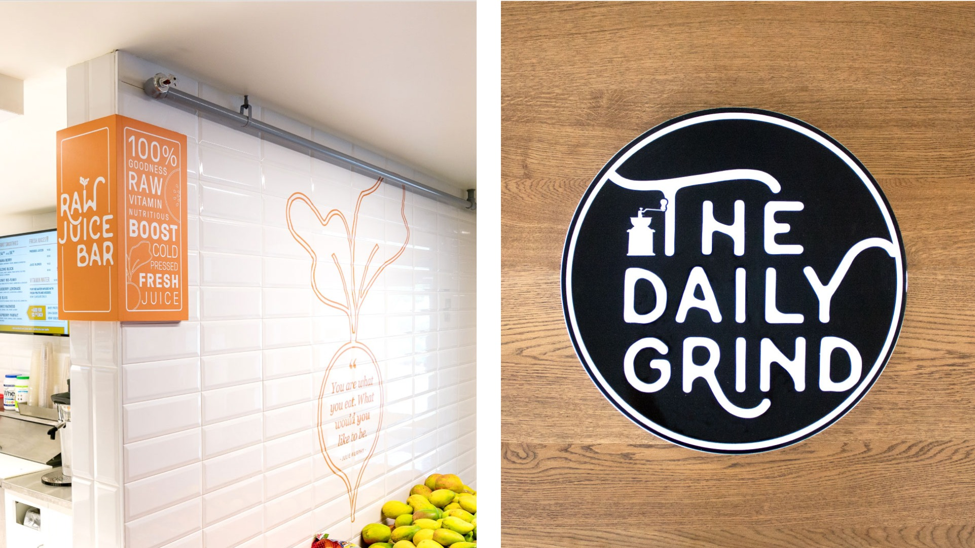 Hurley's Raw Juice Bar & The Daily Grind