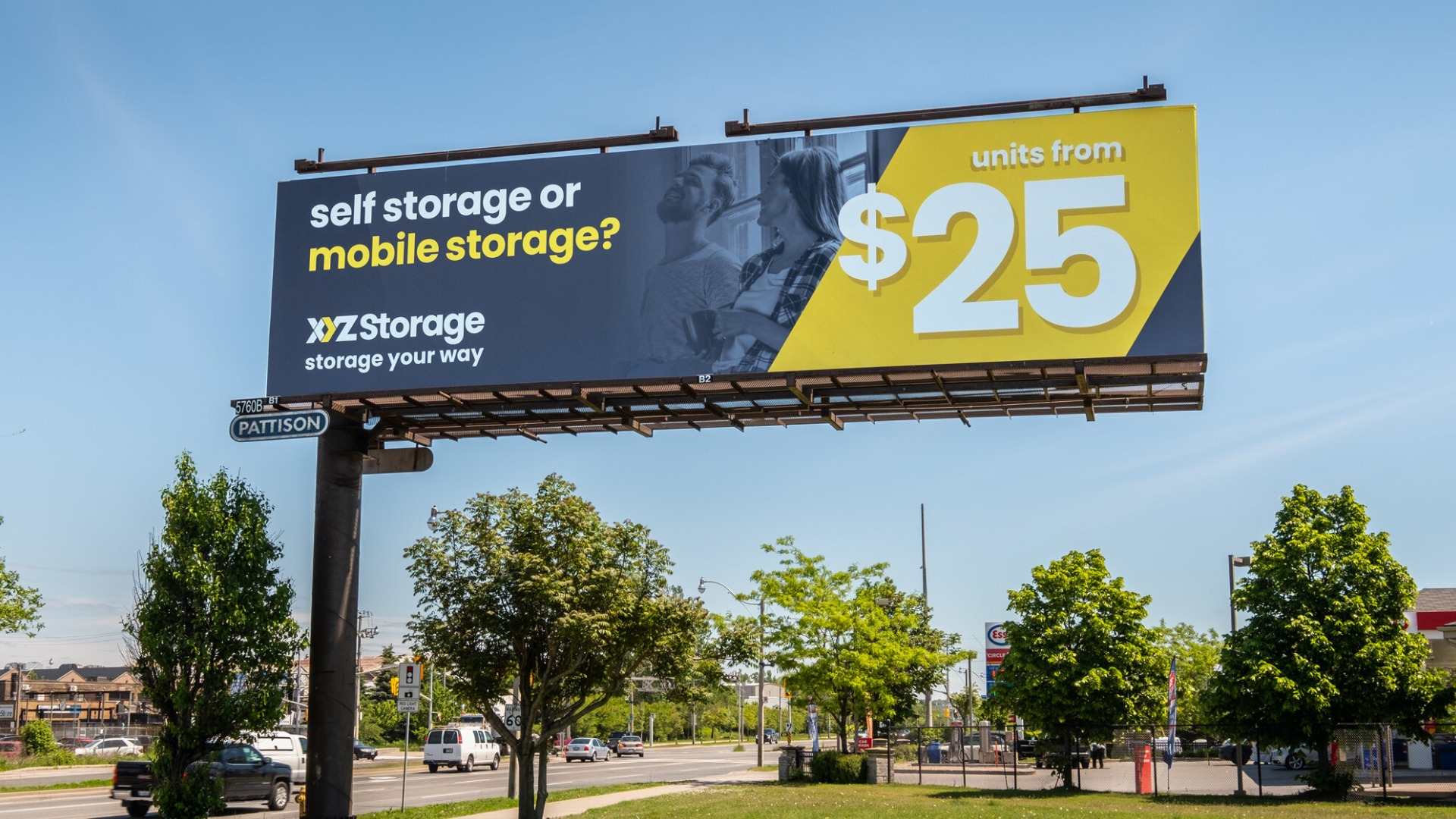 XYZ Storage Billboard