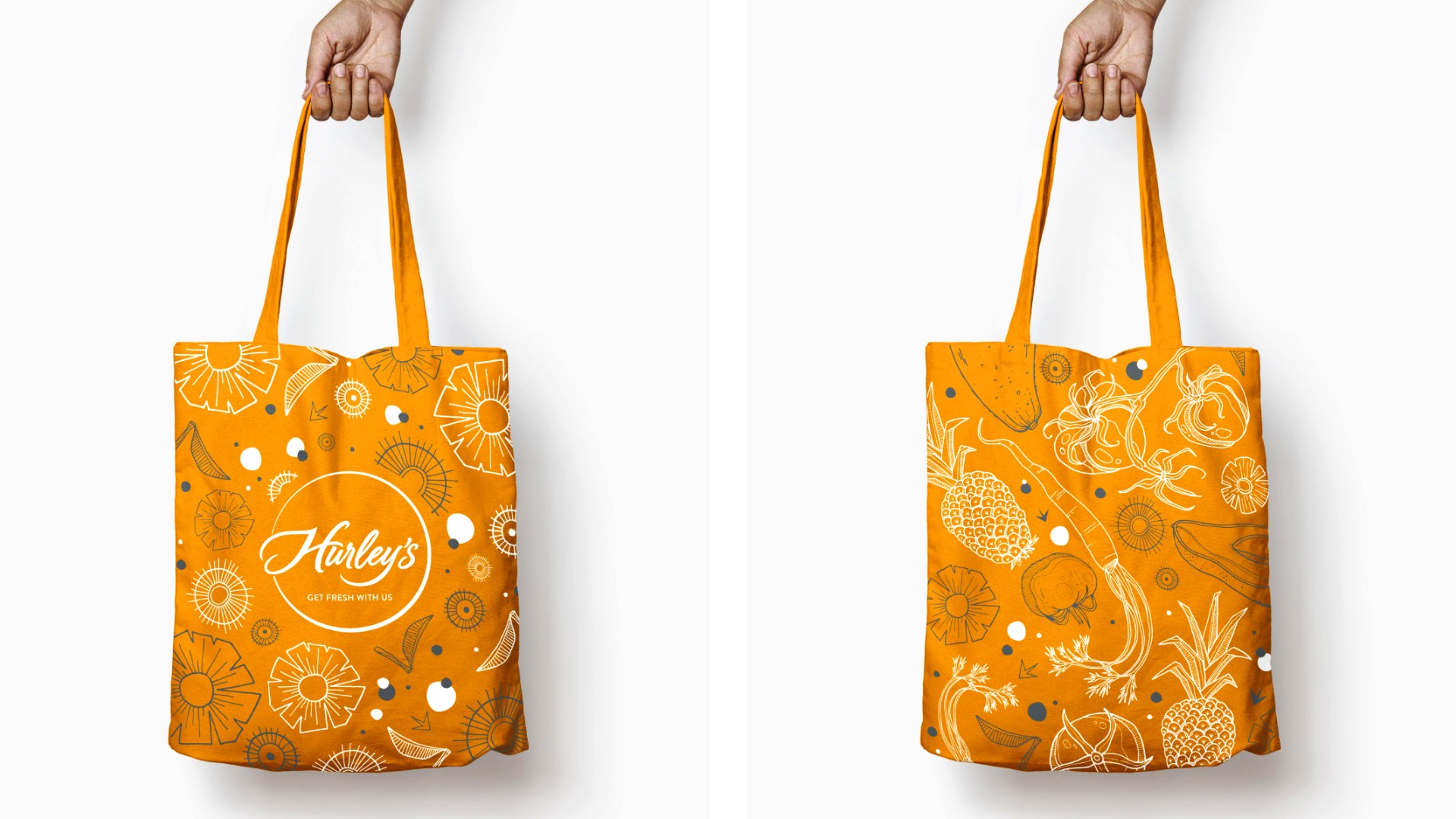 Hurley's Tote Bags