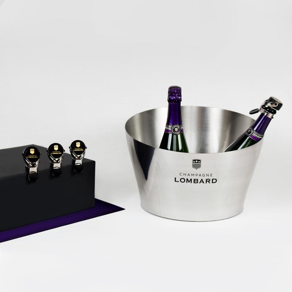 Image du projet photos de produits du Champagne Lombard