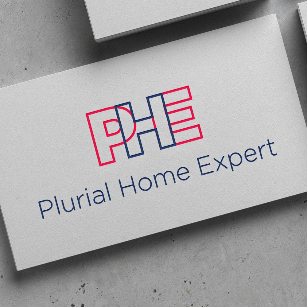 Image du projet d'identité visuelle de Plurial Home Expert