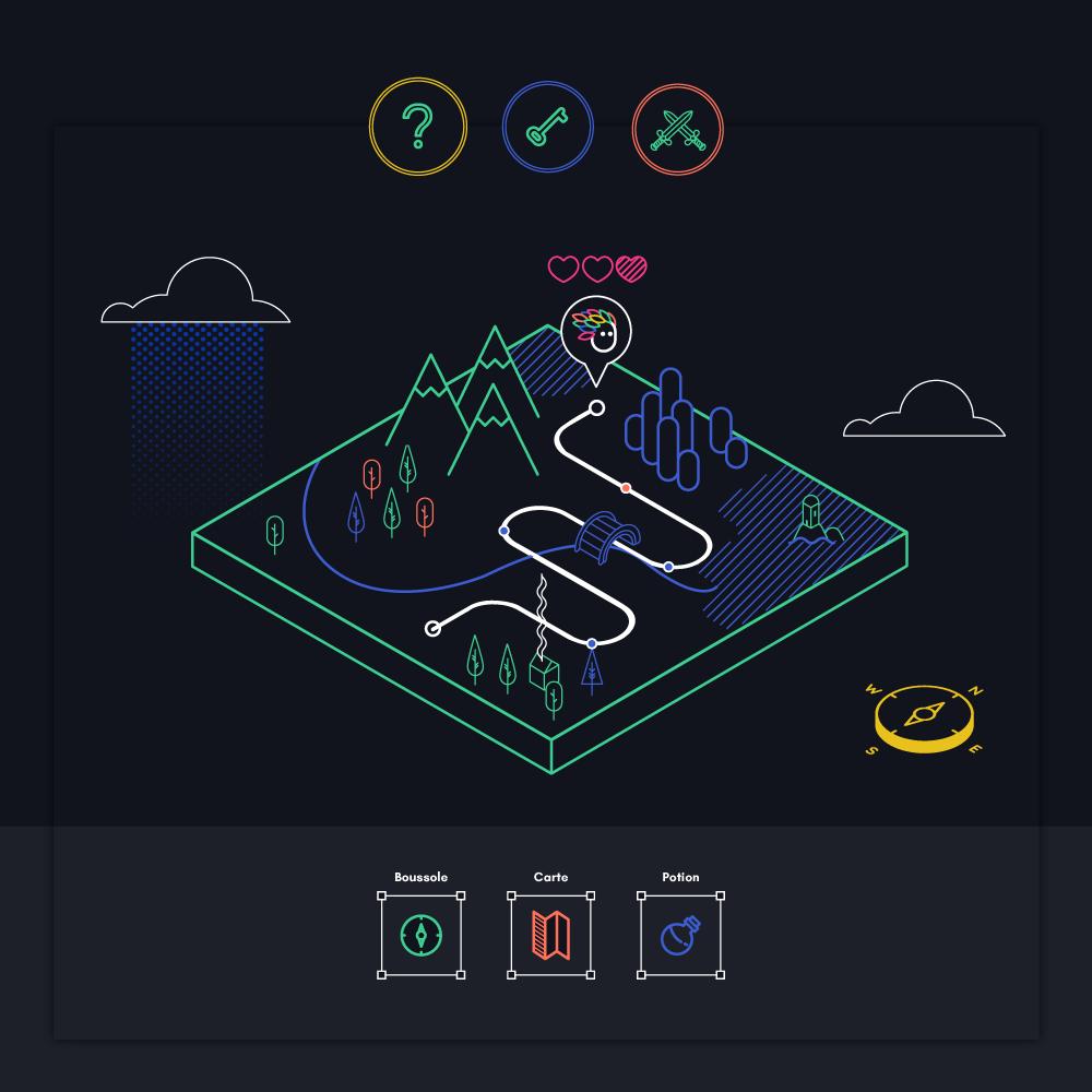"""Image du projet de site internet """"Une Mini Aventure"""""""