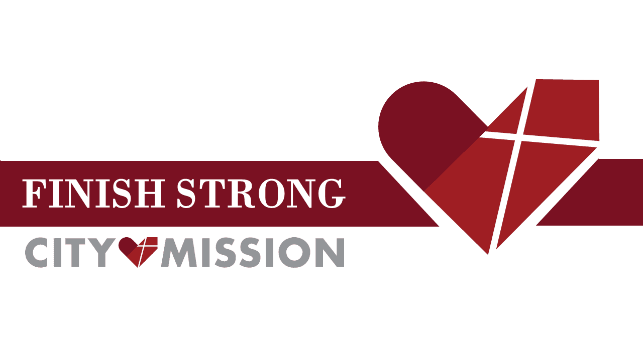 City Mission's 'Finish Strong' logo for Capital Campaign