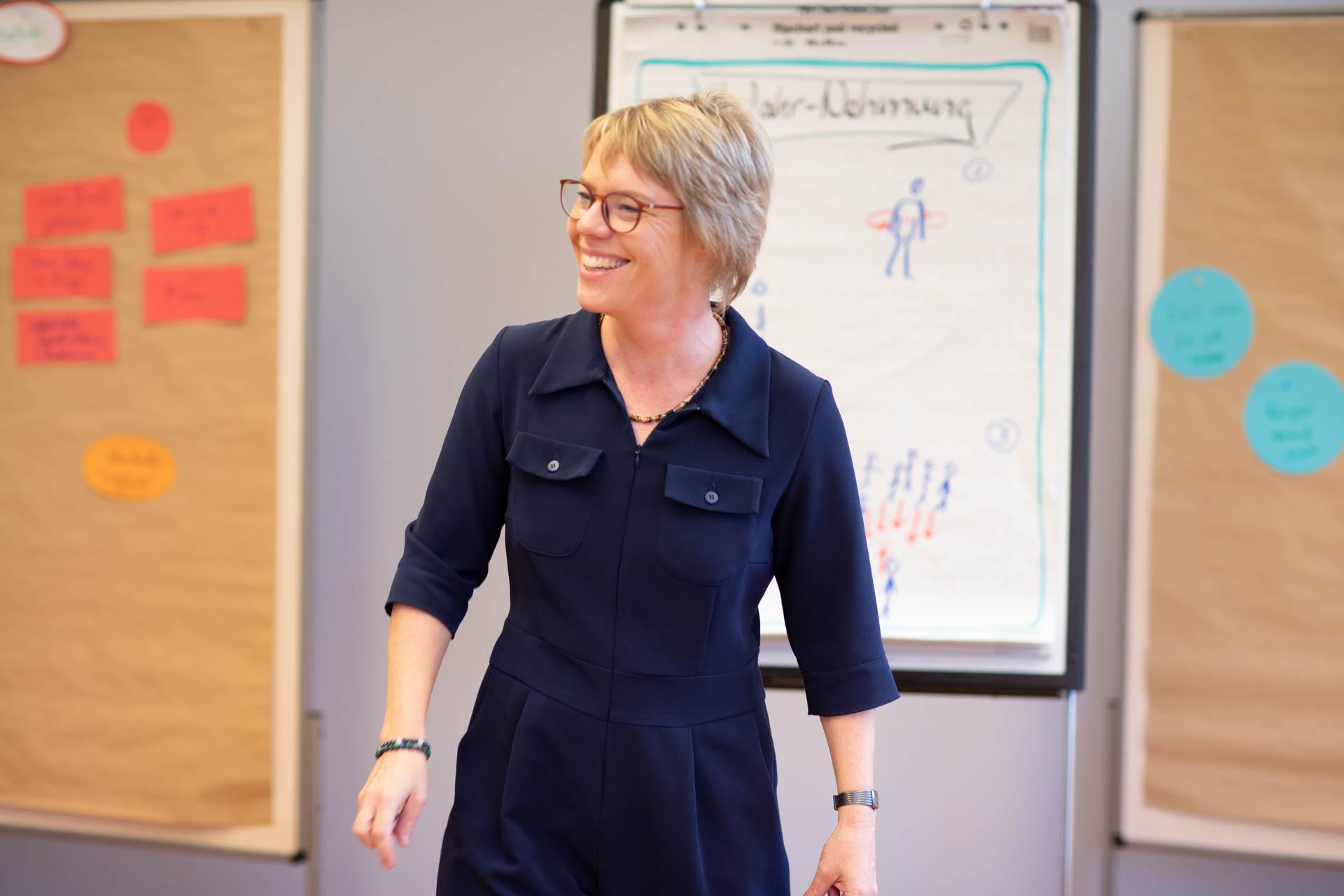 Kristina Böhlke bei einem Workshop