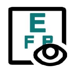 Pictogramme d'un tableau de vérification visuelle