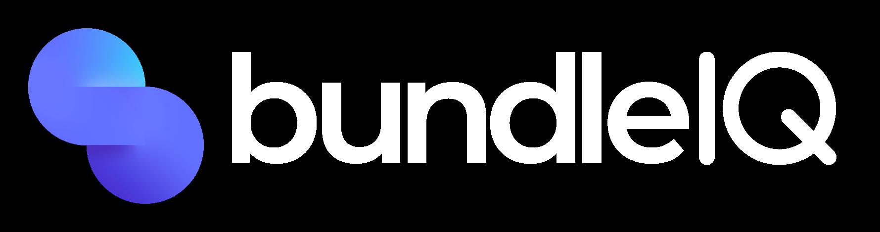bunldeIQ white logo