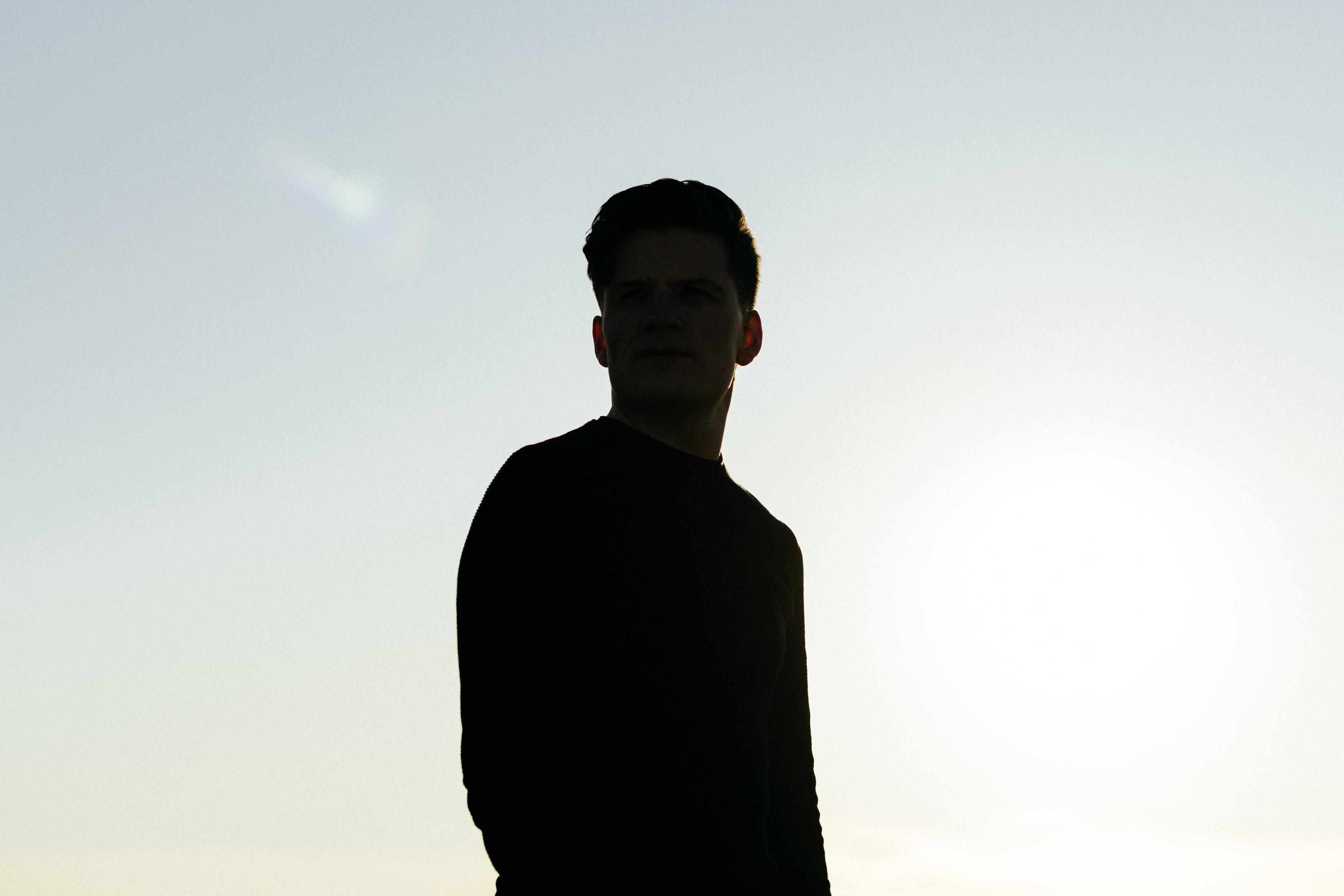cinematic shadow portrait