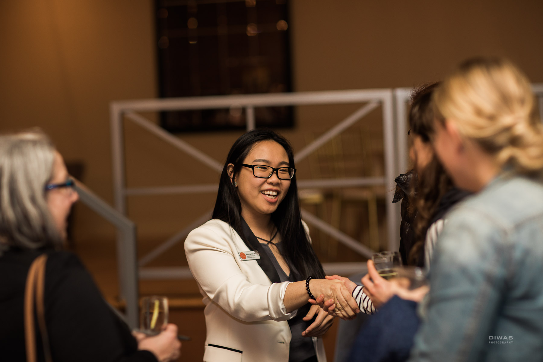 Stephanie Lau at Hall at Fauntleroy Open House. Photo by Diwas Photography