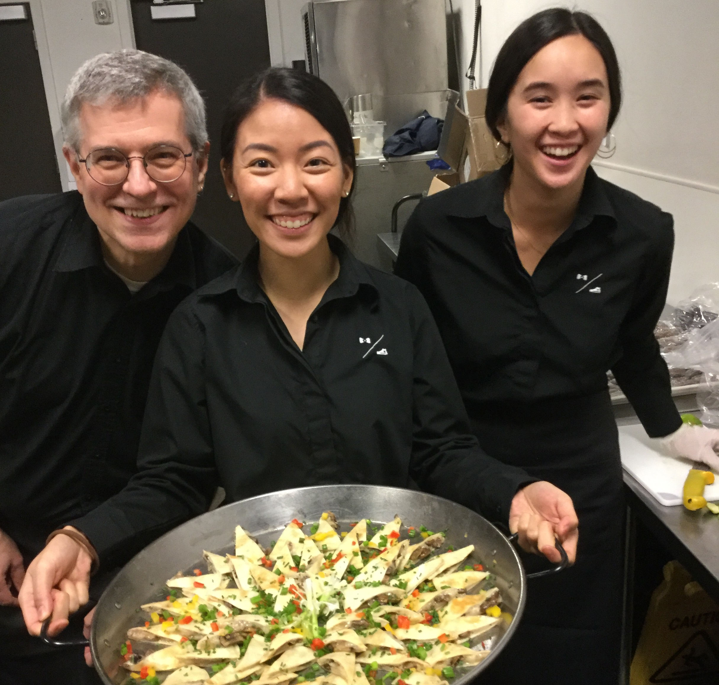 T&T catering servers at Melrose Market Studios in Seattle.