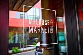 The front door of melrose market studios