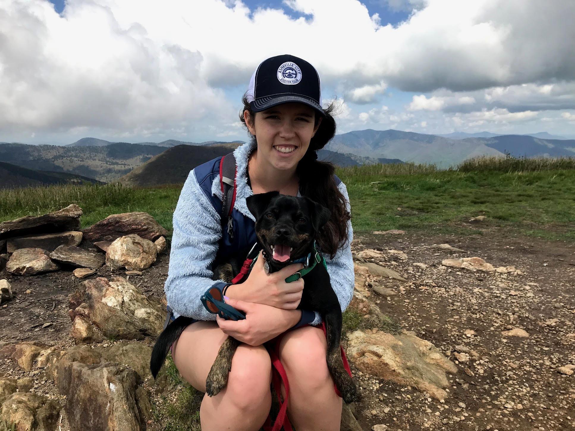 woman-intern-with-dog