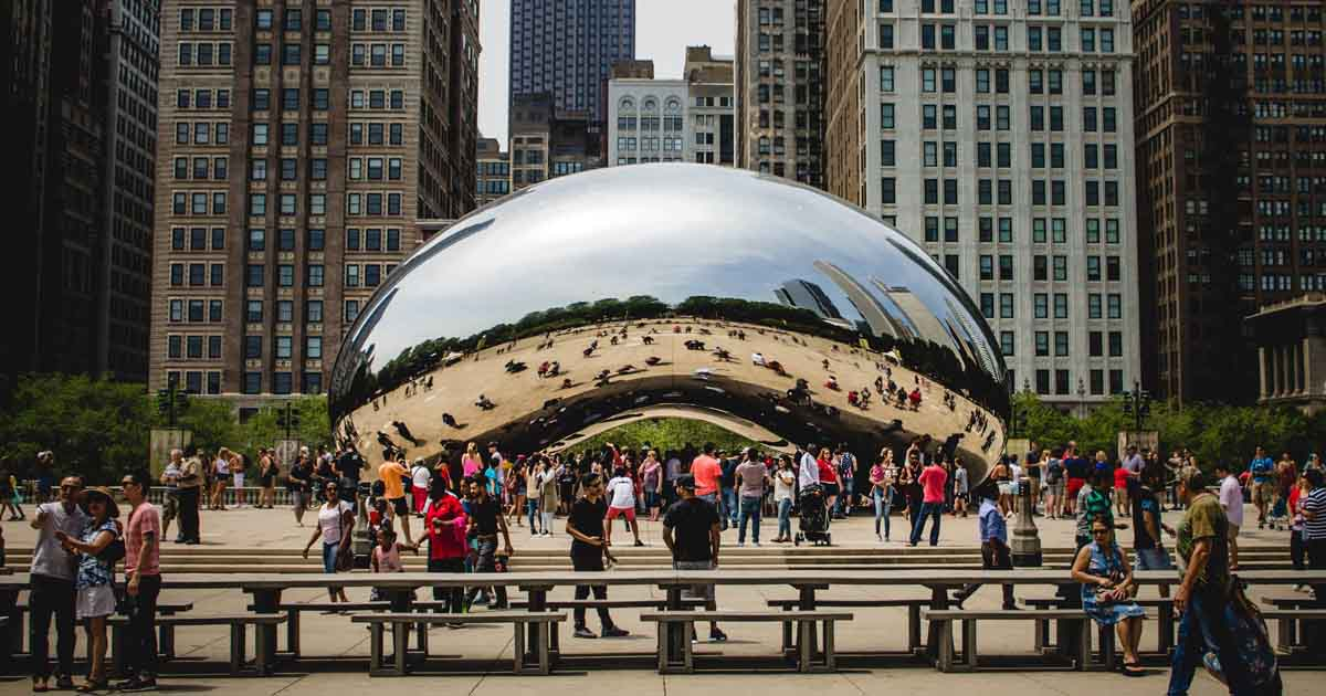 Chicago chrome bean