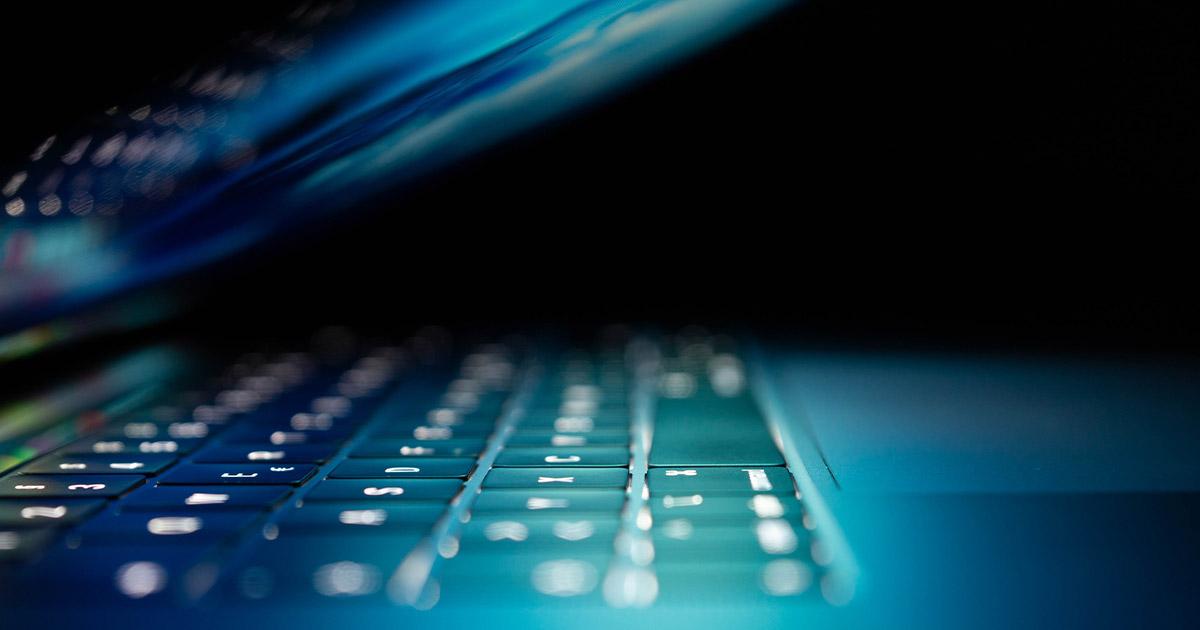 laptop close up