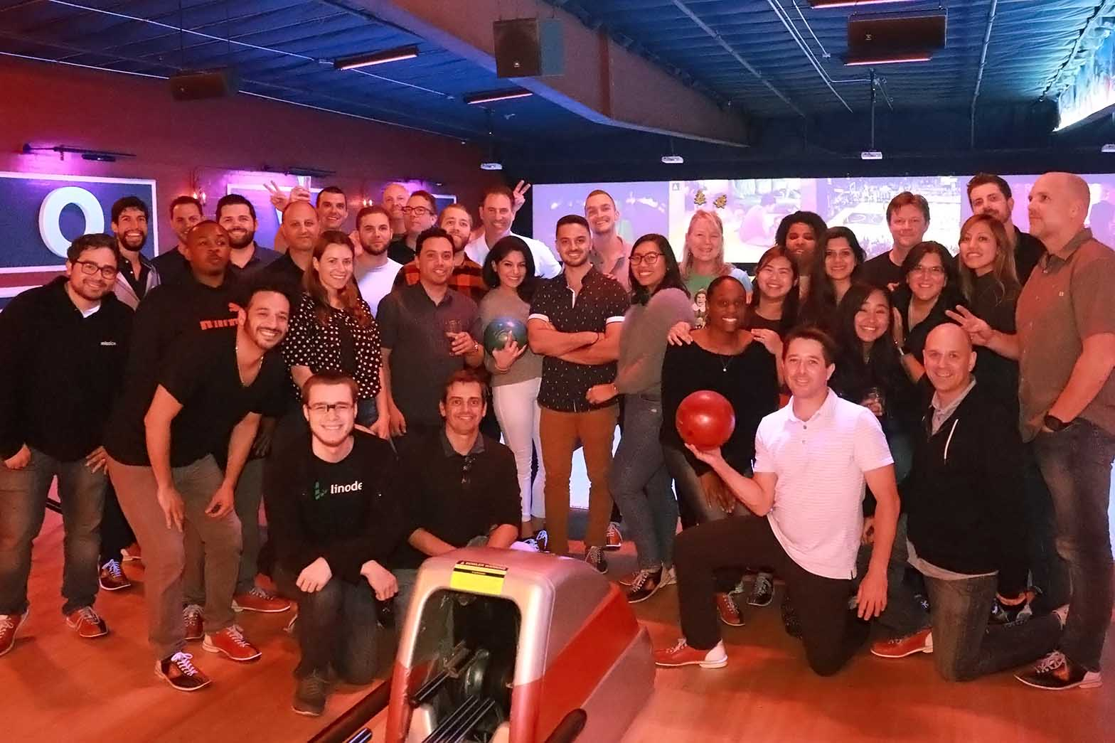 Los Angeles crew bowling