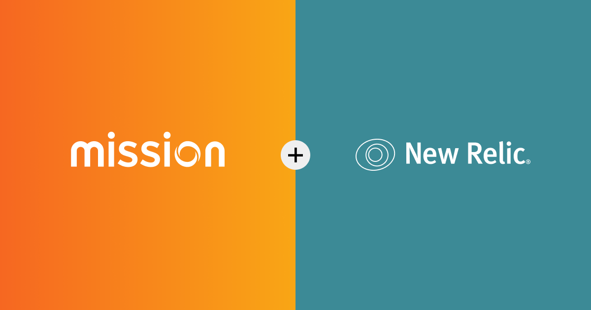 mission + new relic logos together