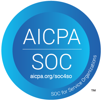 AICPA SOC badge for service organizations