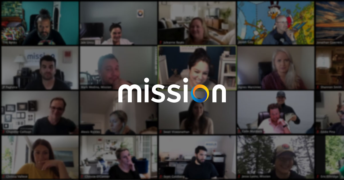 Mission zoom meeting screenshot