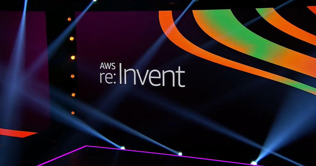 aws reinvent stage for 2020