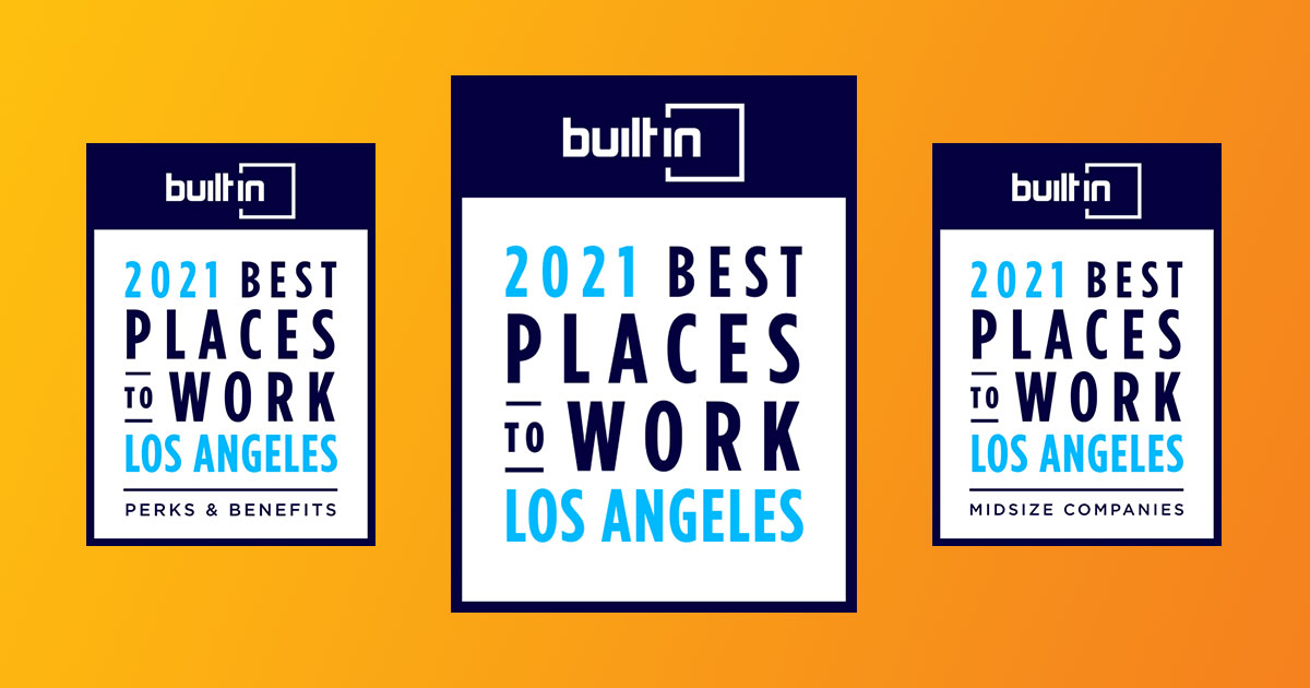 three best places to work logos