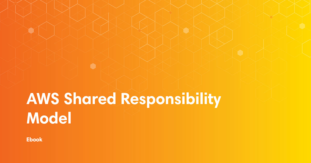 ebook cover art for AWS shared responsibility model