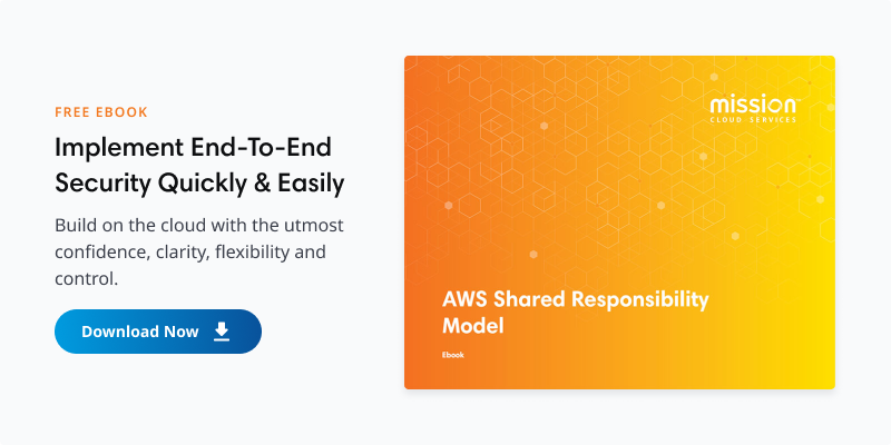 ebook thumbnail for mission's aws shared responsibility model