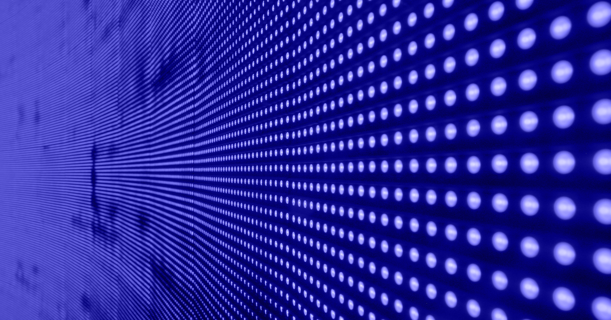 Data in lights