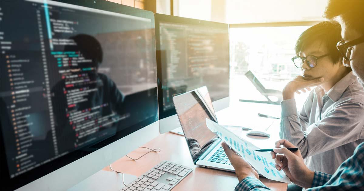 coding on an imac