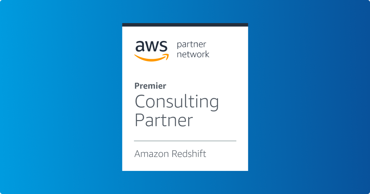 Amazon Redshift competency badge