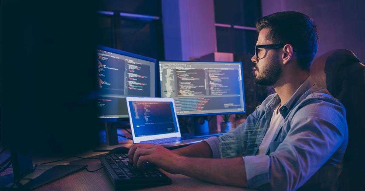 coding on multiple monitors