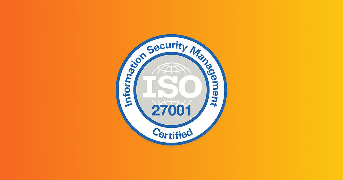ISO 27001 certification for information security management