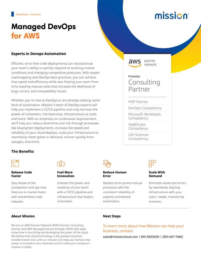 Managed DevOps PDF Thumbnail