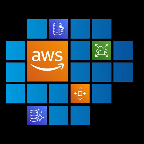 Illustration of an AWS Data Lake