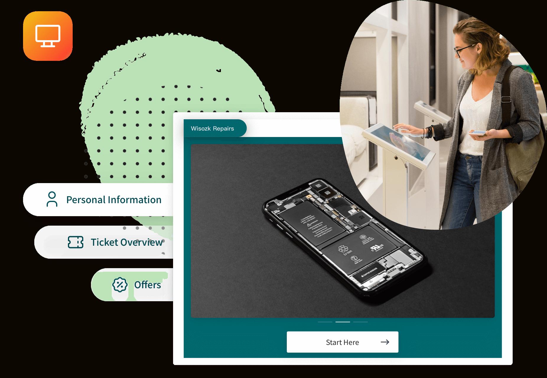 RepairDesk-customer-facing-display
