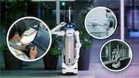 【NTT都市開発】5G を活用した警備ロボット実証実験を実施