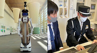 【ロボスタ 】警備アバターロボット「ugo」大分県立美術館で実証実験を実施 立哨中にAIで来館者のカウントも