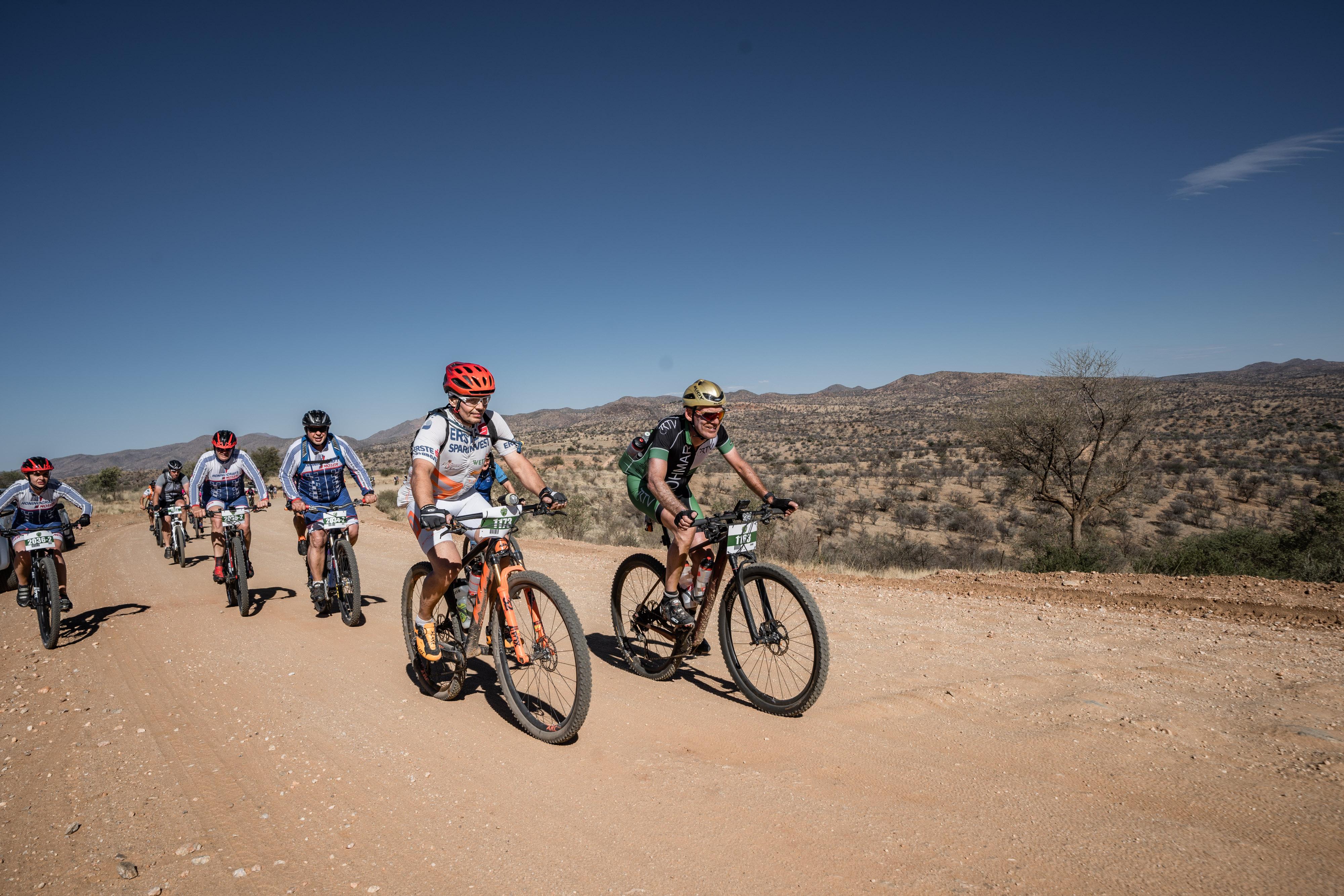 cycling on Boscia/Namibia
