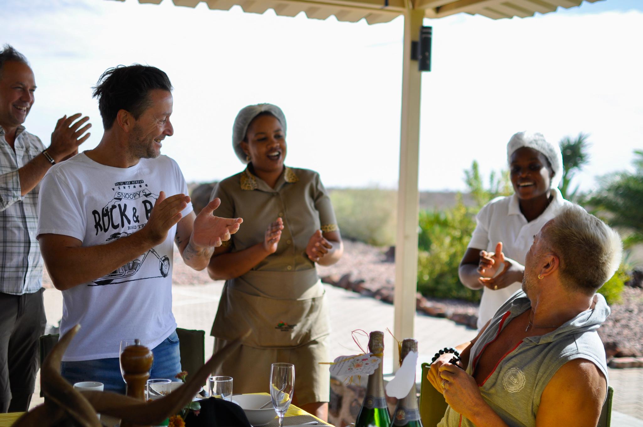 party at Boscia/Namibia