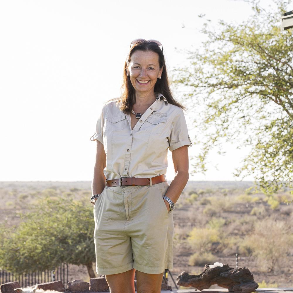 Anja Huppertz Director Boscia African Farm