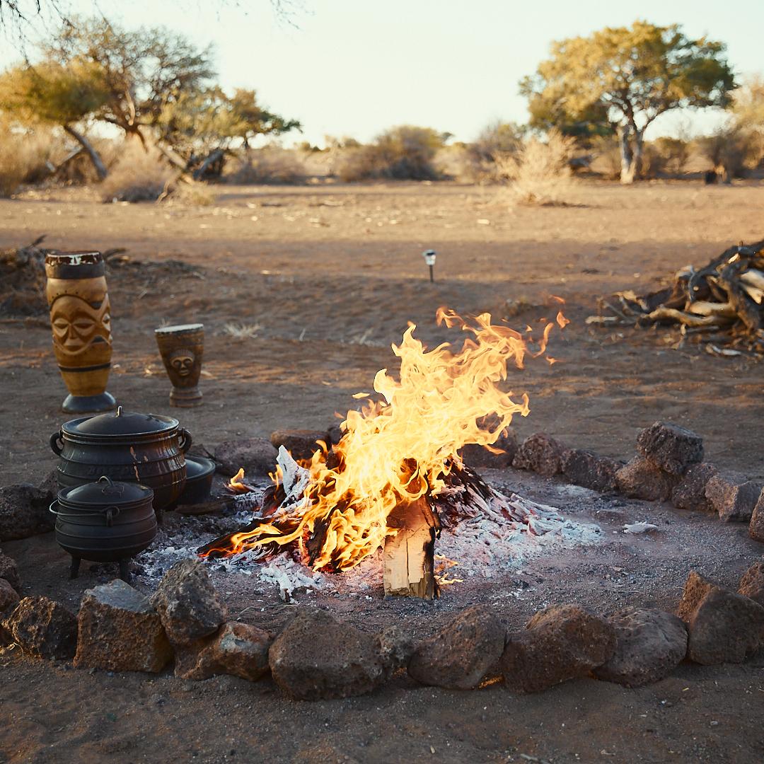 Camping at Boscia Farm