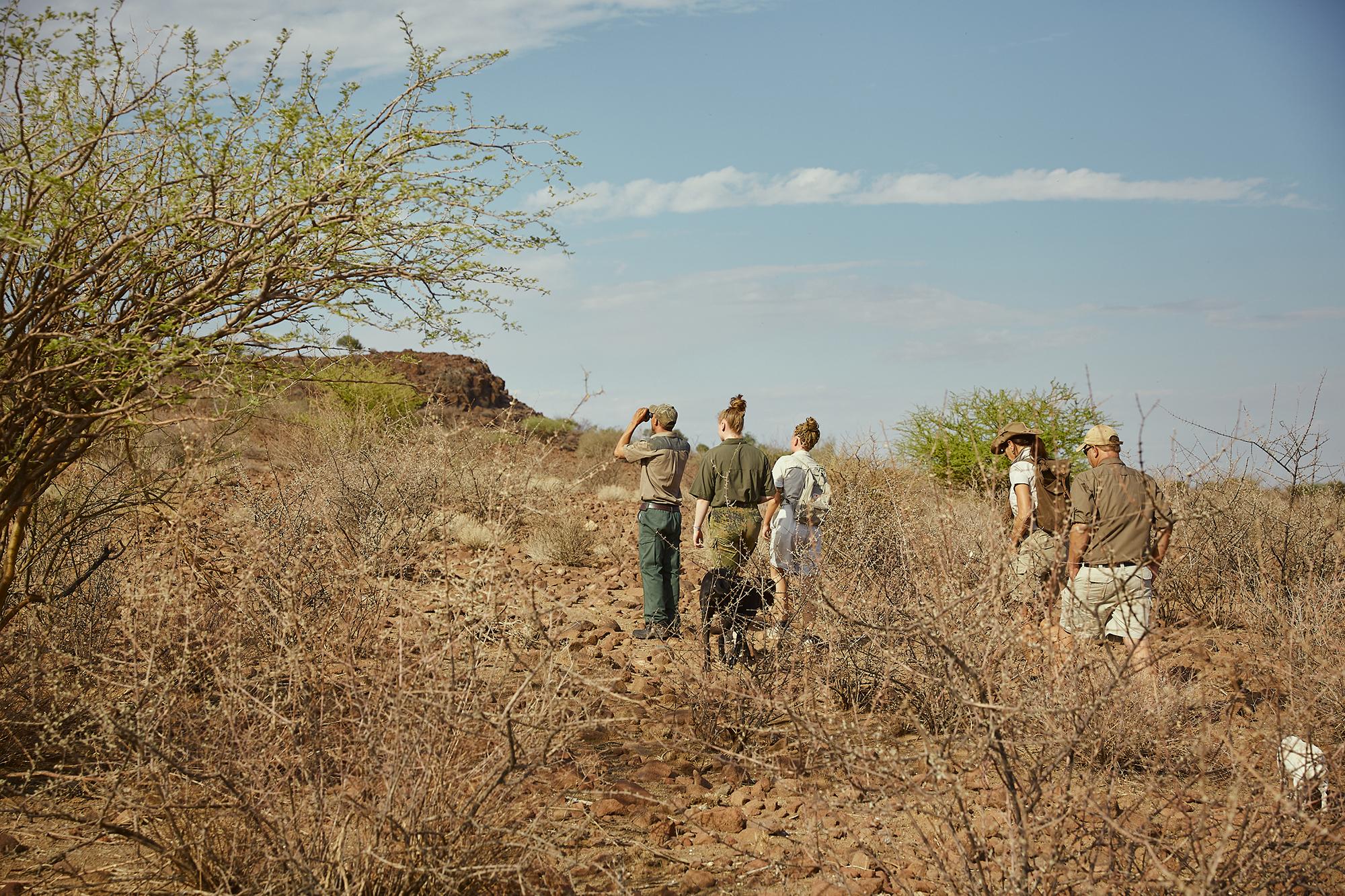 hike on Boscia/Namibia