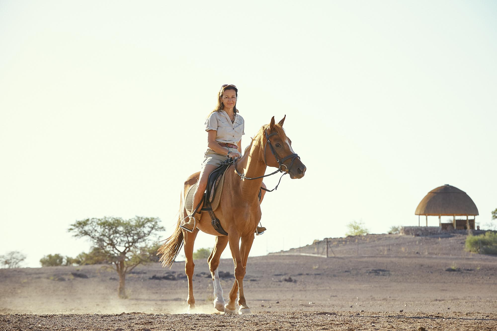 Horse riding on Boscia