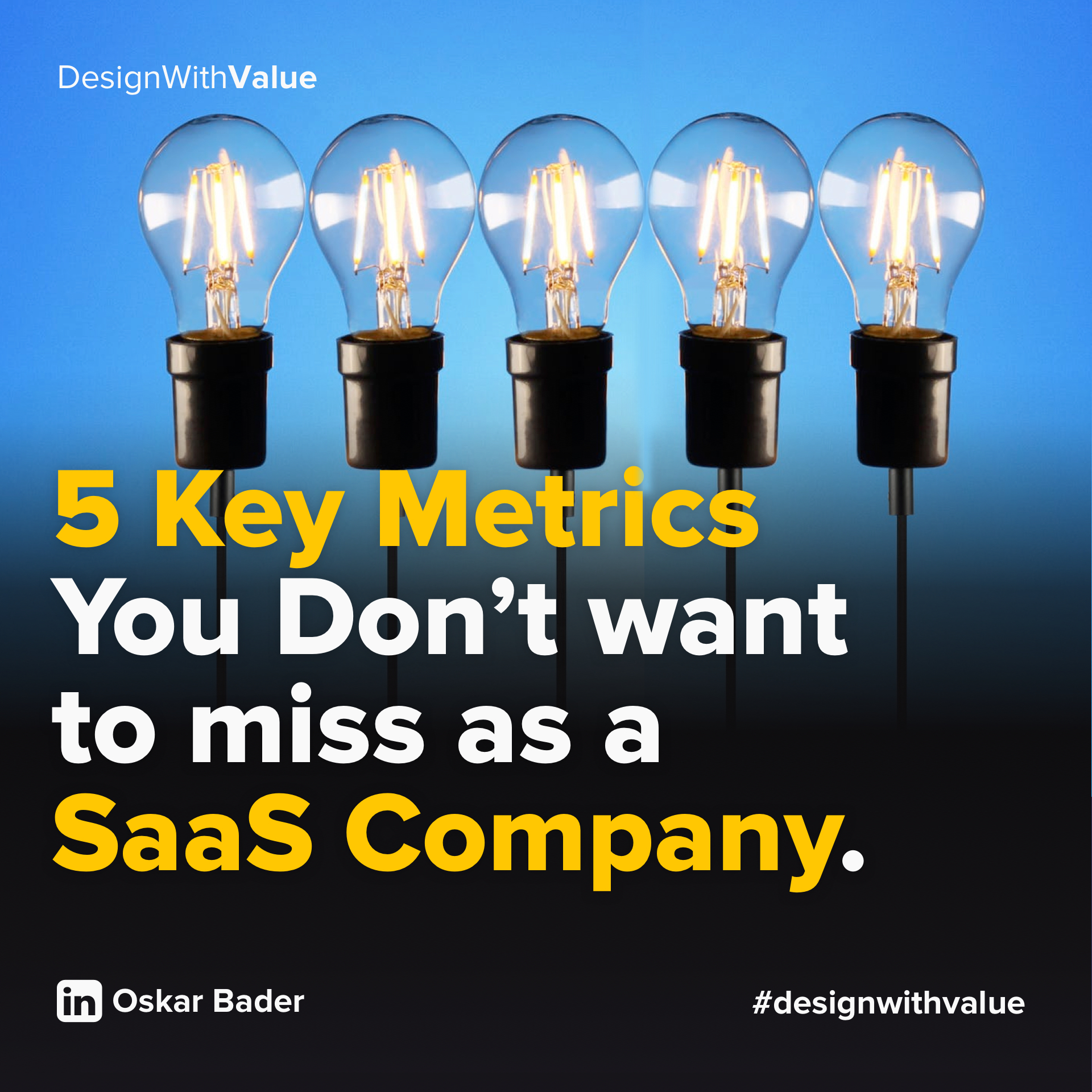 5 key metrics you dont want to miss as a SaaS company