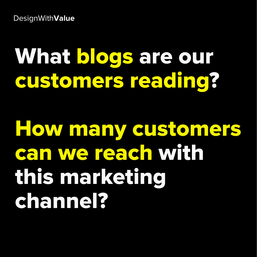 what blogs are our customers reading?