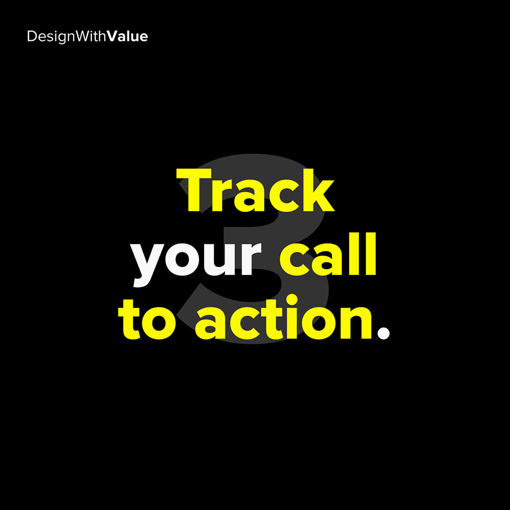 3. track your call to action